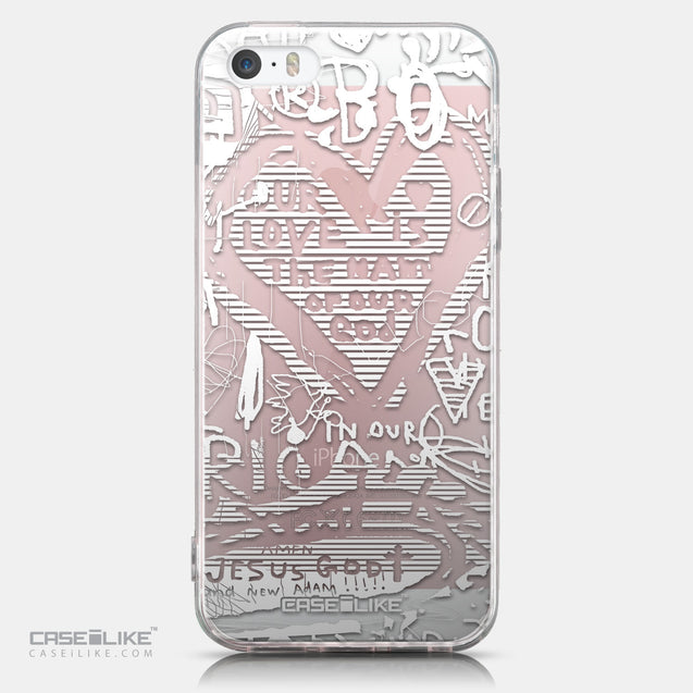 CASEiLIKE Apple iPhone SE back cover Graffiti 2730