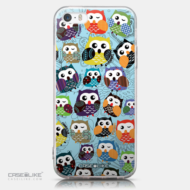 CASEiLIKE Apple iPhone SE back cover Owl Graphic Design 3312