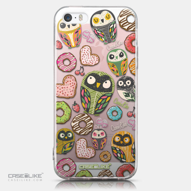 CASEiLIKE Apple iPhone SE back cover Owl Graphic Design 3315