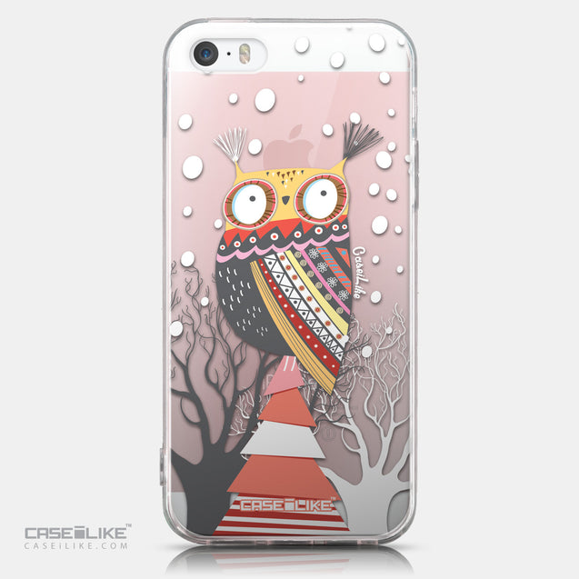 CASEiLIKE Apple iPhone SE back cover Owl Graphic Design 3317