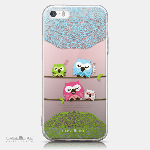 CASEiLIKE Apple iPhone SE back cover Owl Graphic Design 3318