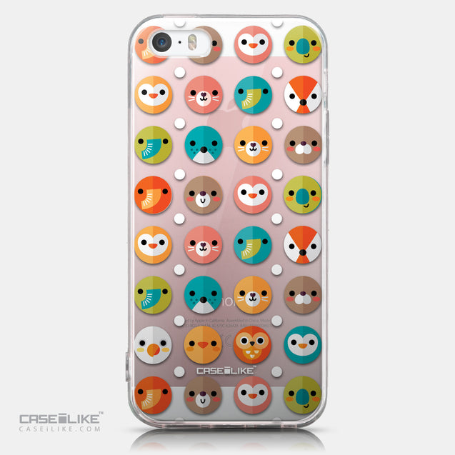 CASEiLIKE Apple iPhone SE back cover Animal Cartoon 3638