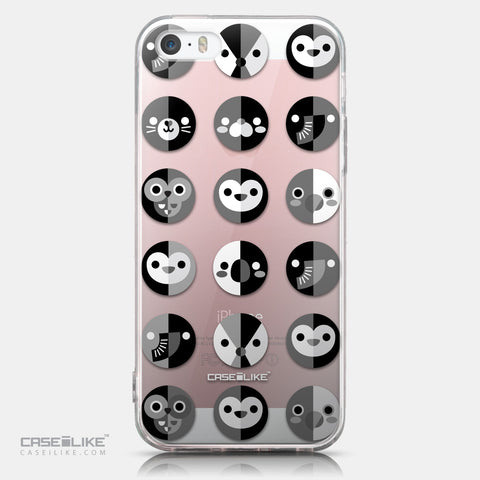 CASEiLIKE Apple iPhone SE back cover Animal Cartoon 3639
