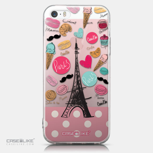 CASEiLIKE Apple iPhone SE back cover Paris Holiday 3904