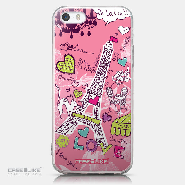 CASEiLIKE Apple iPhone SE back cover Paris Holiday 3905