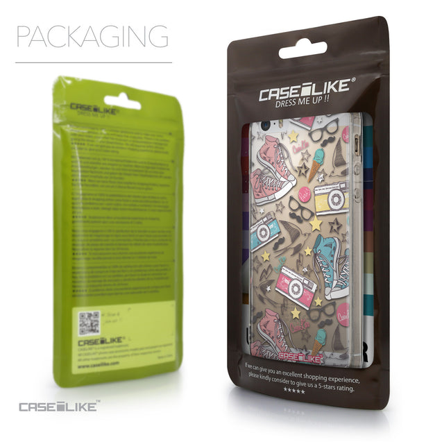 Packaging - CASEiLIKE Apple iPhone SE back cover Paris Holiday 3906