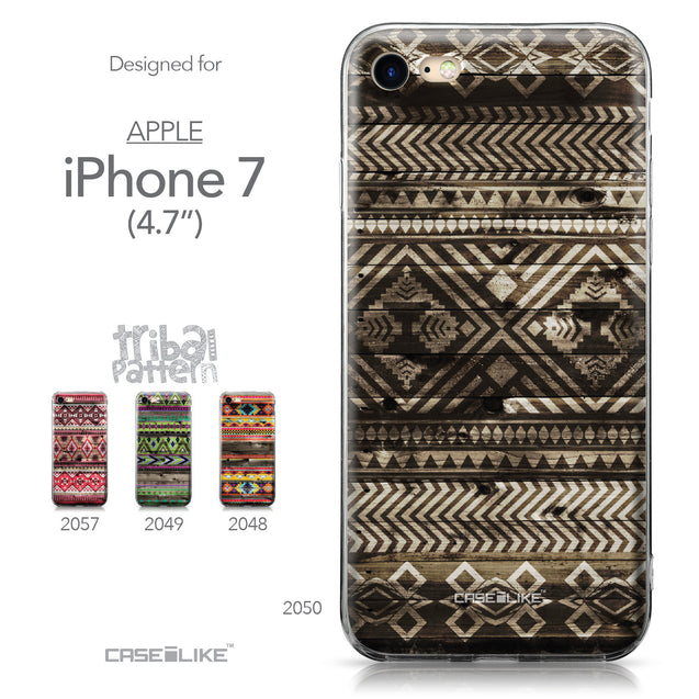 Apple iPhone 7 case Indian Tribal Theme Pattern 2050 Collection | CASEiLIKE.com