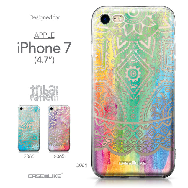 Apple iPhone 7 case Indian Line Art 2064 Collection | CASEiLIKE.com