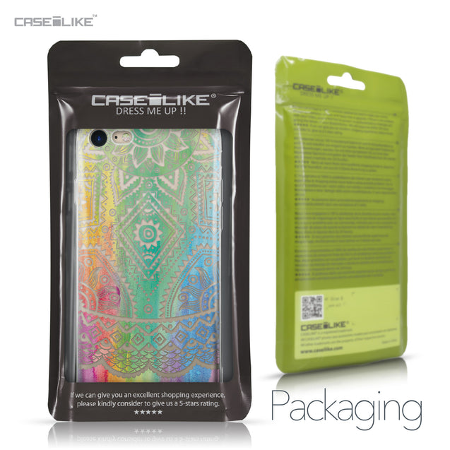 Apple iPhone 7 case Indian Line Art 2064 Retail Packaging | CASEiLIKE.com