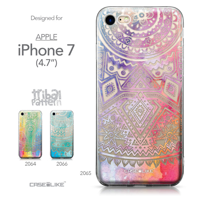 Apple iPhone 7 case Indian Line Art 2065 Collection | CASEiLIKE.com