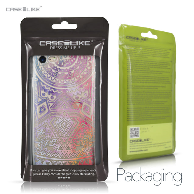 Apple iPhone 7 case Indian Line Art 2065 Retail Packaging | CASEiLIKE.com