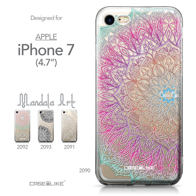 Apple iPhone 7 case Mandala Art 2090 Collection | CASEiLIKE.com
