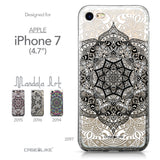 Apple iPhone 7 case Mandala Art 2097 Collection | CASEiLIKE.com