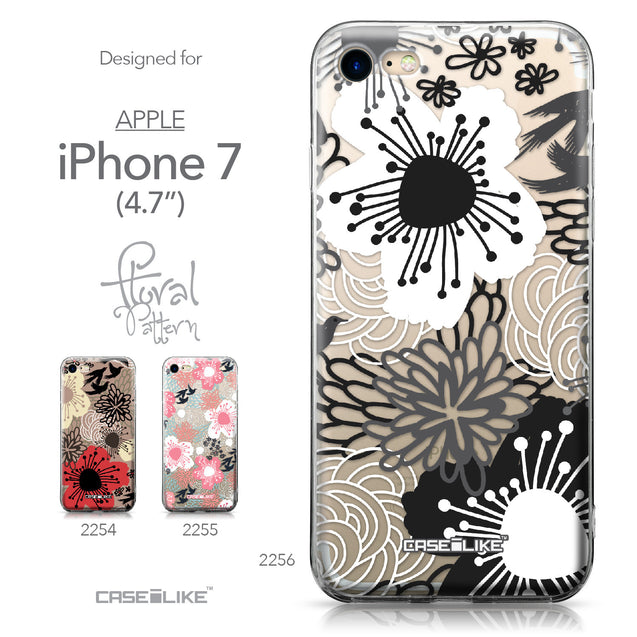 Apple iPhone 7 case Japanese Floral 2256 Collection | CASEiLIKE.com