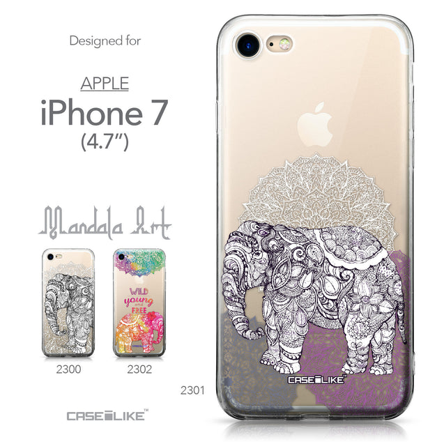 Apple iPhone 7 case Mandala Art 2301 Collection | CASEiLIKE.com