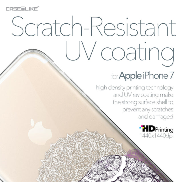 Apple iPhone 7 case Mandala Art 2301 with UV-Coating Scratch-Resistant Case | CASEiLIKE.com