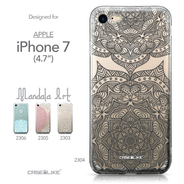 Apple iPhone 7 case Mandala Art 2304 Collection | CASEiLIKE.com