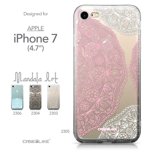 Apple iPhone 7 case Mandala Art 2305 Collection | CASEiLIKE.com