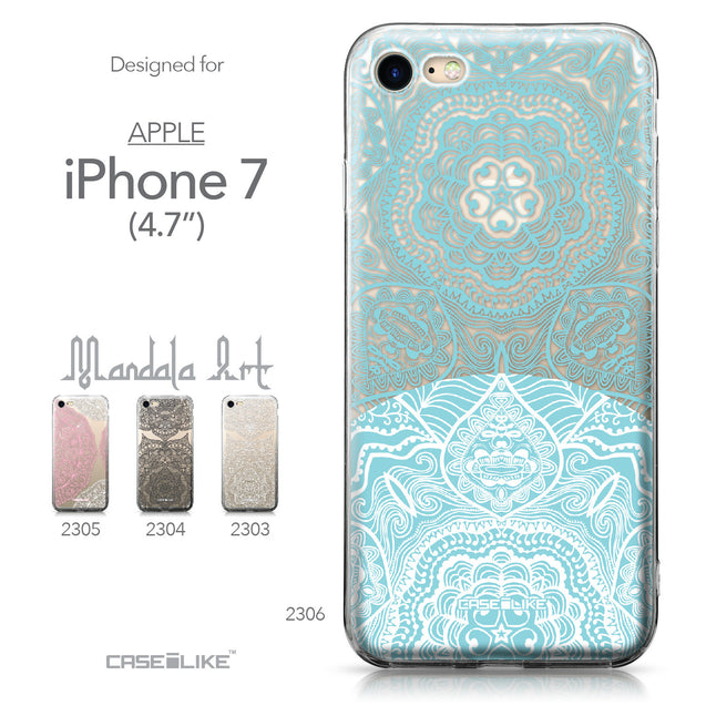Apple iPhone 7 case Mandala Art 2306 Collection | CASEiLIKE.com