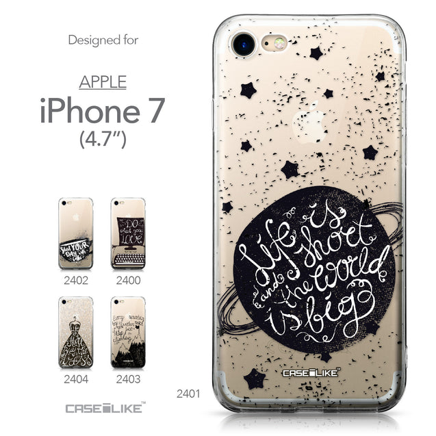 Apple iPhone 7 case Quote 2401 Collection | CASEiLIKE.com