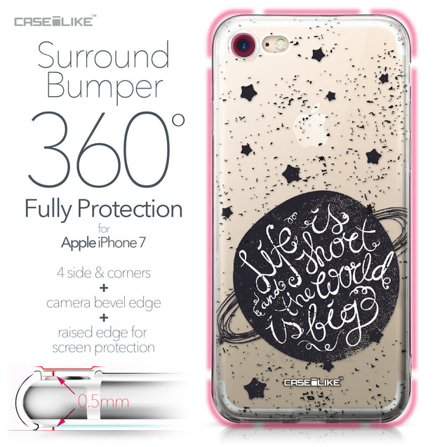 Apple iPhone 7 case Quote 2401 Bumper Case Protection | CASEiLIKE.com