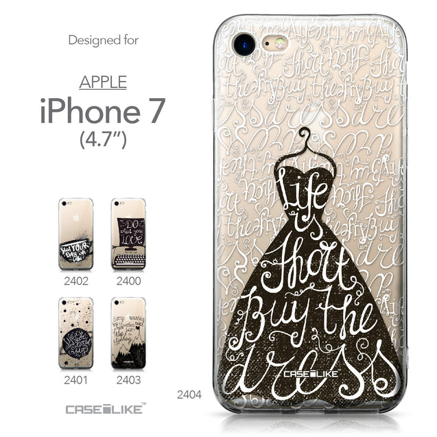 Apple iPhone 7 case Quote 2404 Collection | CASEiLIKE.com