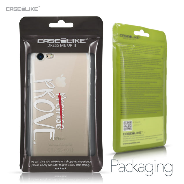 Apple iPhone 7 case Quote 2409 Retail Packaging | CASEiLIKE.com