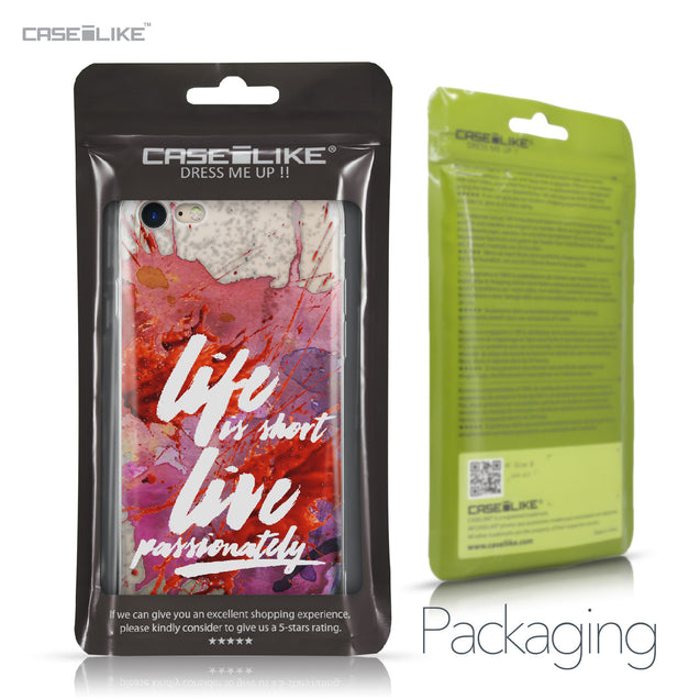 Apple iPhone 7 case Quote 2423 Retail Packaging | CASEiLIKE.com