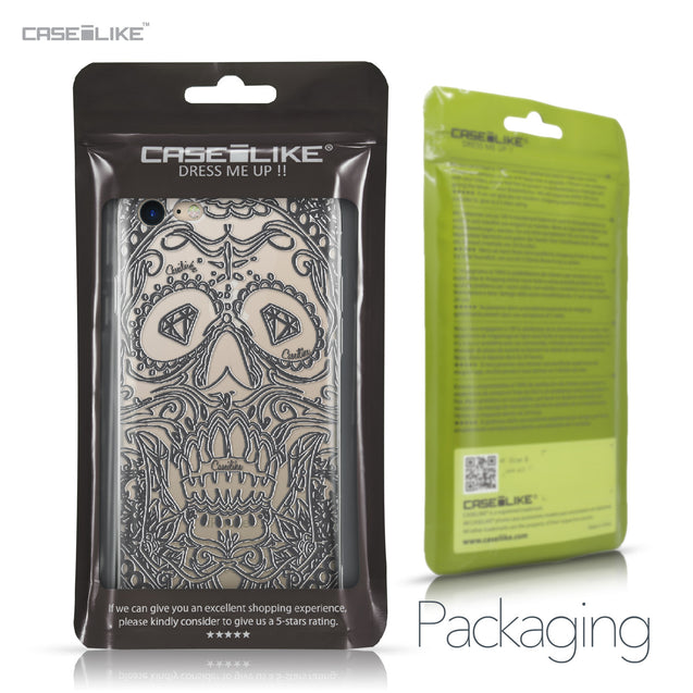 Apple iPhone 7 case Art of Skull 2524 Retail Packaging | CASEiLIKE.com