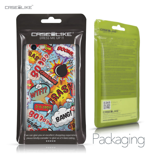 Apple iPhone 7 case Comic Captions Blue 2913 Retail Packaging | CASEiLIKE.com