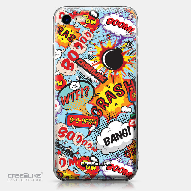 Apple iPhone 7 case Comic Captions Blue 2913 | CASEiLIKE.com