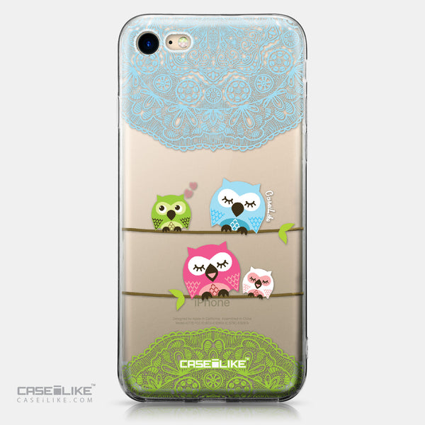 Apple iPhone 7 case Owl Graphic Design 3318 | CASEiLIKE.com