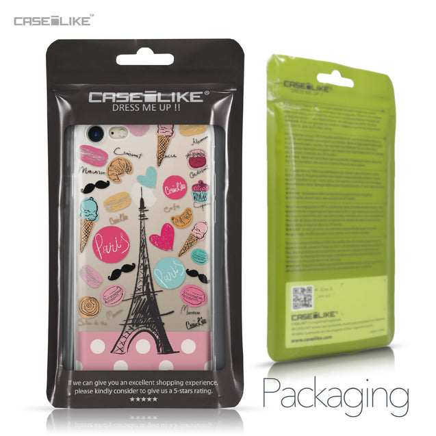 Apple iPhone 7 case Paris Holiday 3904 Retail Packaging | CASEiLIKE.com