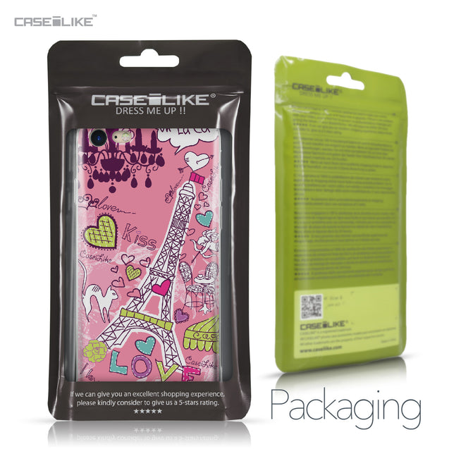 Apple iPhone 7 case Paris Holiday 3905 Retail Packaging | CASEiLIKE.com