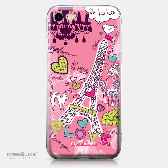 Apple iPhone 7 case Paris Holiday 3905 | CASEiLIKE.com