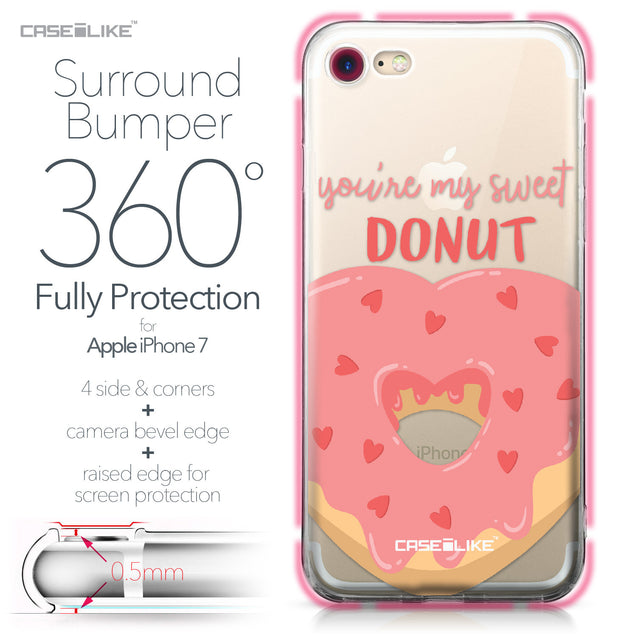 Apple iPhone 7 case Dounuts 4823 Bumper Case Protection | CASEiLIKE.com