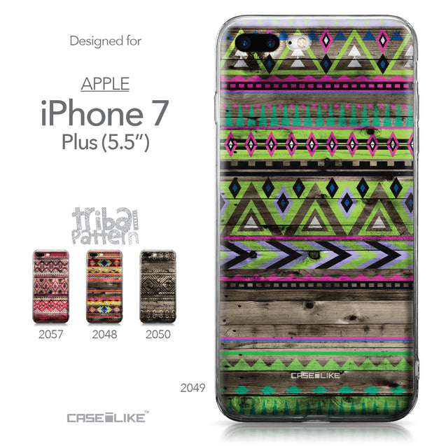 Apple iPhone 7 Plus case Indian Tribal Theme Pattern 2049 Collection | CASEiLIKE.com