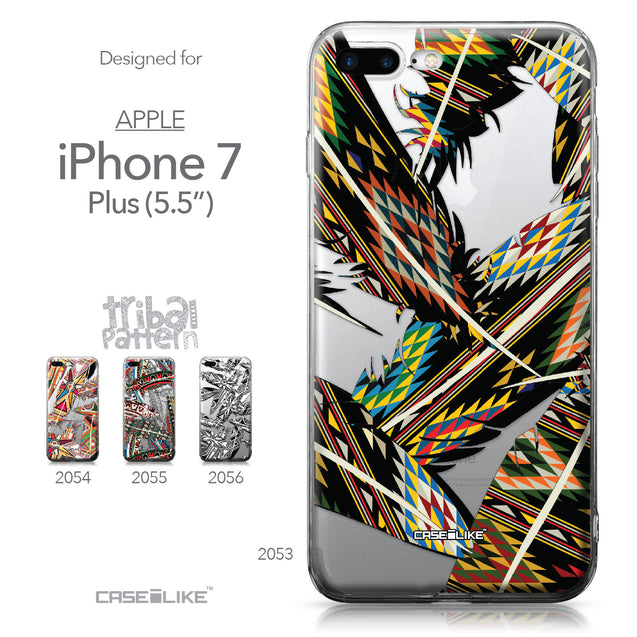 Apple iPhone 7 Plus case Indian Tribal Theme Pattern 2053 Collection | CASEiLIKE.com