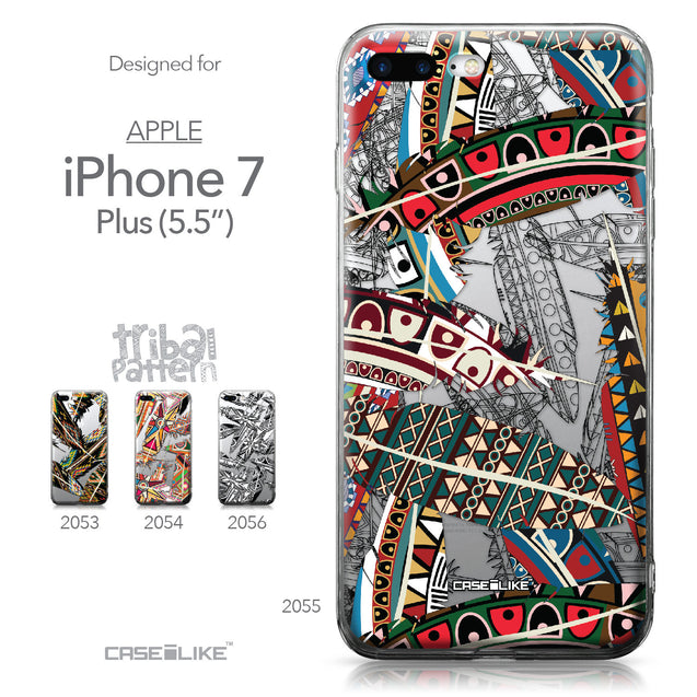 Apple iPhone 7 Plus case Indian Tribal Theme Pattern 2055 Collection | CASEiLIKE.com