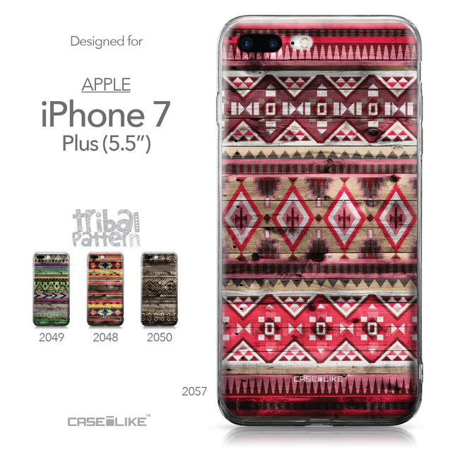 Apple iPhone 7 Plus case Indian Tribal Theme Pattern 2057 Collection | CASEiLIKE.com