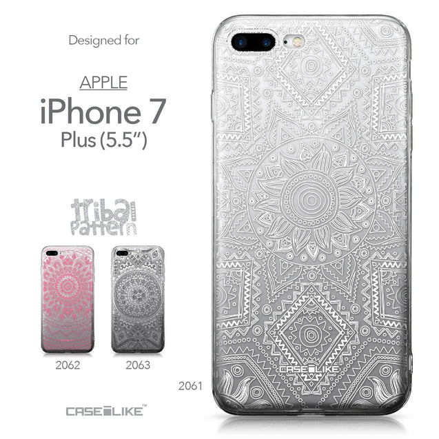 Apple iPhone 7 Plus case Indian Line Art 2061 Collection | CASEiLIKE.com