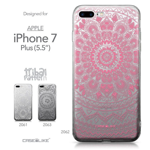 Apple iPhone 7 Plus case Indian Line Art 2062 Collection | CASEiLIKE.com