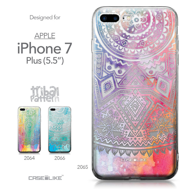 Apple iPhone 7 Plus case Indian Line Art 2065 Collection | CASEiLIKE.com