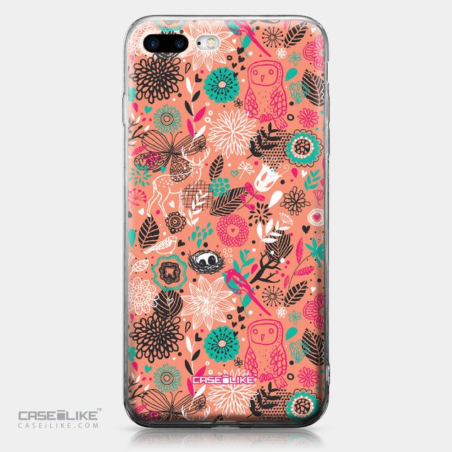 Apple iPhone 7 Plus case Spring Forest Pink 2242 | CASEiLIKE.com