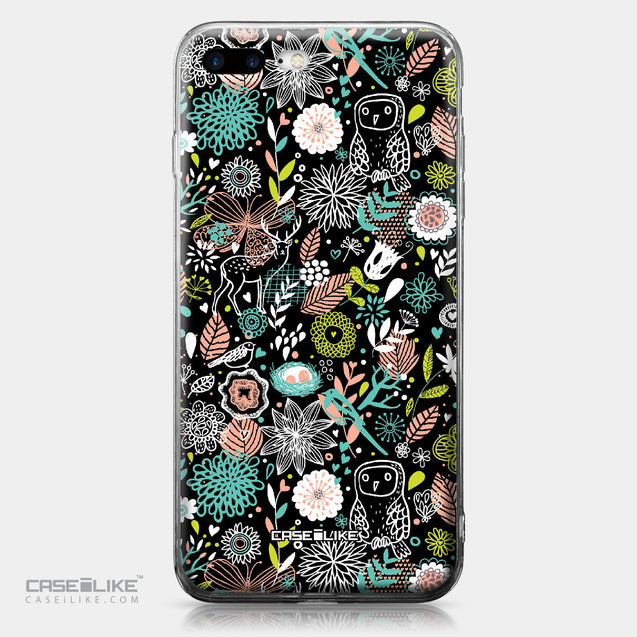 Apple iPhone 7 Plus case Spring Forest Black 2244 | CASEiLIKE.com
