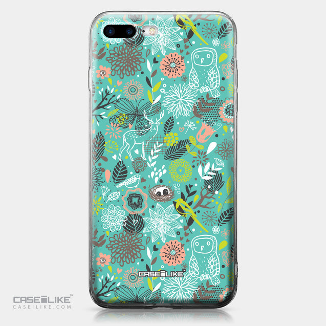 Apple iPhone 7 Plus case Spring Forest Turquoise 2245 | CASEiLIKE.com