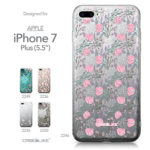 Apple iPhone 7 Plus case Flowers Herbs 2246 Collection | CASEiLIKE.com