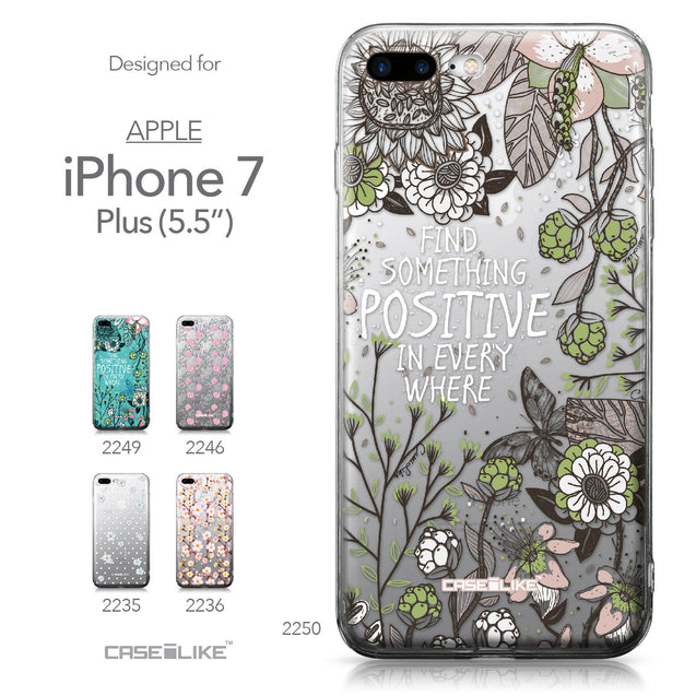 Apple iPhone 7 Plus case Blooming Flowers 2250 Collection | CASEiLIKE.com