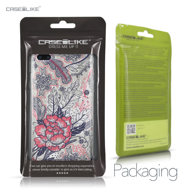 Apple iPhone 7 Plus case Vintage Roses and Feathers Beige 2251 Retail Packaging | CASEiLIKE.com