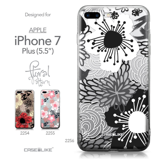 Apple iPhone 7 Plus case Japanese Floral 2256 Collection | CASEiLIKE.com